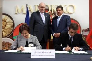 Maroc-UE : Accord de protection géographique