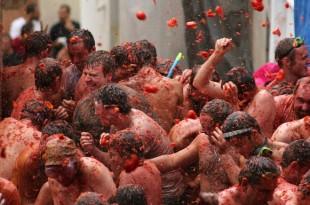 Retour sur le 72e festival Tomatina