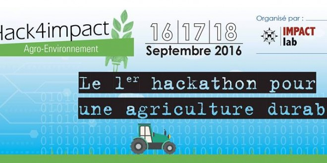 "Agriculture durable: 1ère édition du ""Hack4impact"""