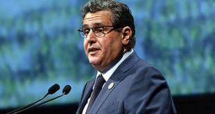 M. Aziz Akhannouch intervenant  à l'ouverture des 9-èmes Assises de l'agriculture à Meknès-AN