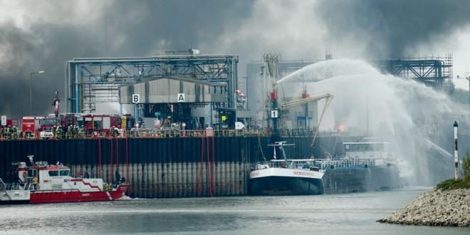 Explosion sur un site du Groupe BASF en Allemagne