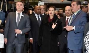La Princesse Lalla Meryem inaugure le pavillon marocain à « l'International Green Week » de Berlin