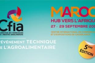 Casablanca: 5e édition du CFIA Maroc du 27 au 29 septembre