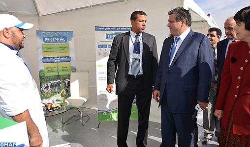 """""""Village Itinérant du Conseil Agricole"""", escale à Souss-Massa"""