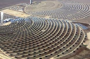 Inauguration de la première centrale solaire Noor I