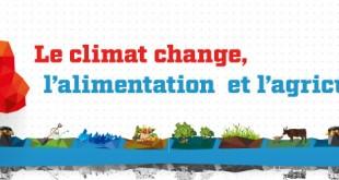 """FAO: """"Le climat change, l'alimentation et l'agriculture aussi"""""""