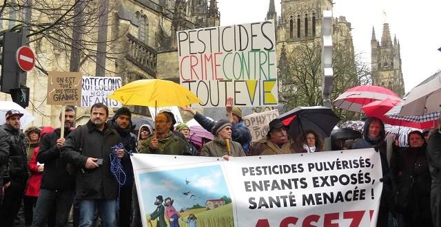 Bordeaux : «Marche blanche» contre les effets des pesticides