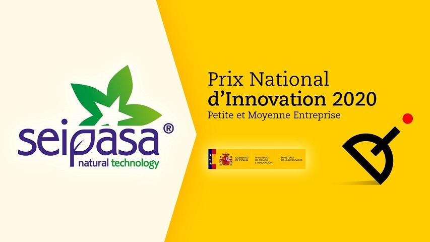 Seipasa, Prix National de l'Innovation 2020.