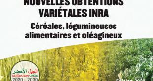 L'édition 2021 des nouvelles obtentions variétales de l'INRA