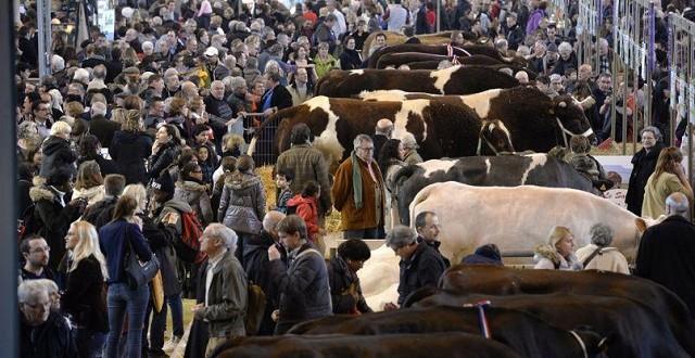 Le Salon de l'agriculture de Paris ouvrira ses portes le 27 février