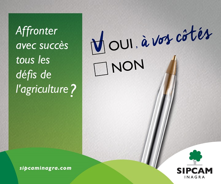 Légende de l'image : SIPCAM s'engage à innover pour relever les défis de l'agriculture.