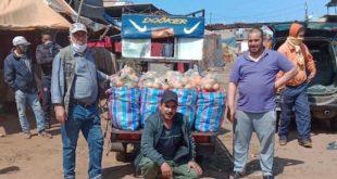 Fruits et légumes : Les commerçants des marchés de gros à l'aide des familles