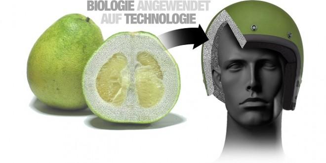 Insolite: BMW s'inspire du pomelo pour créer un casque