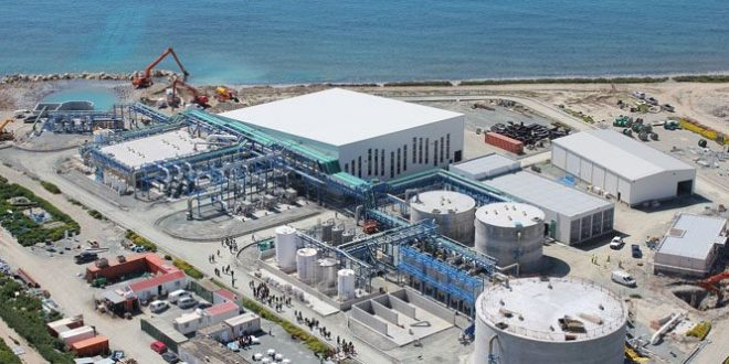 Souss-Massa impact aura la mise en service de la station de dessalement eau de mer