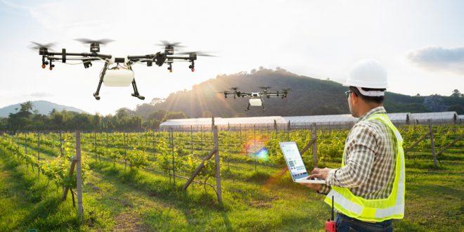 Les drones pulvérisateurs deviennent une tendance en Afrique du Sud