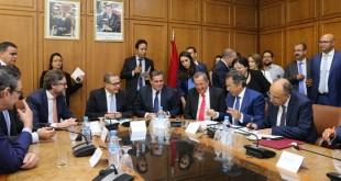 Le projet de dessalement de l'eau de mer signé par Aziz Akhannouch