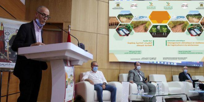 Monsieur Faouzi Bekkaoui de l'INRA Maroc