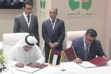 407 MDH Emiratis pour divers projets agricoles au Maroc