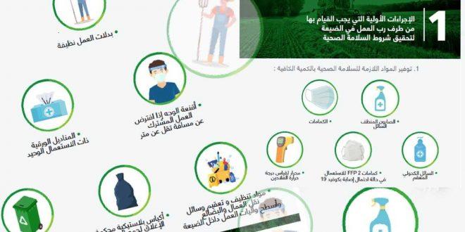 De nouvelles procédures pour letravail agricole marocain