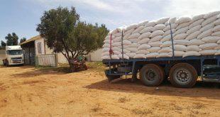 Béni Mellal-Khénifra orge subventionnée éleveurs