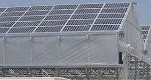 Les panneaux solaires peuvent servir à couvrir les serres selon une étude