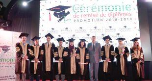 remise des diplômes IAV HASSAN II