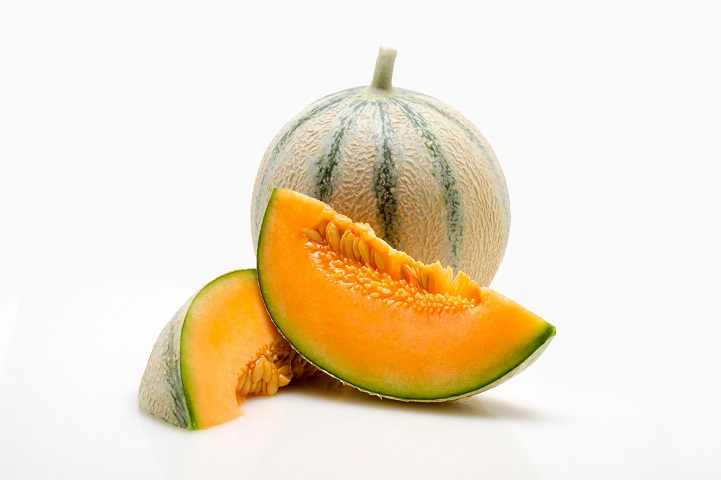 Salomon : Un melon charentais aromatisé avec un bon calibre en extra précoce.