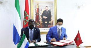 La Sierra Leone veut profiter de l'expertise marocaine dans plusieurs domaines