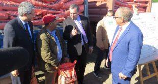 Soutien aux petits agriculteurs de la province de Sidi Kacem